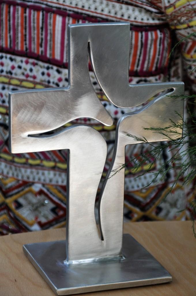 Das neue Altarkreuz