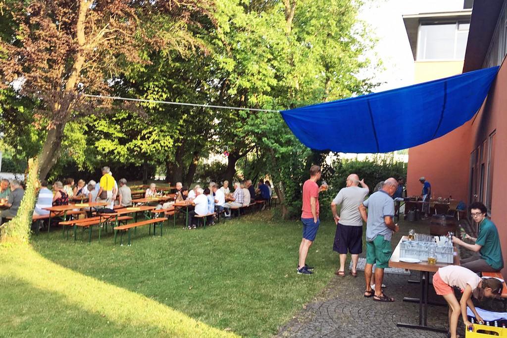 Grillen für Daheimgeblieben August 2018