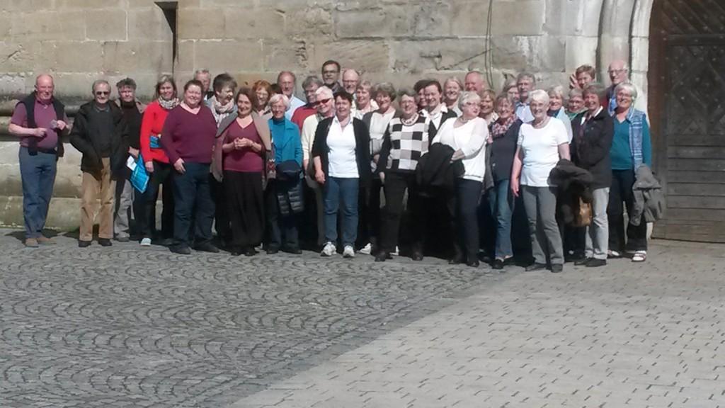 Chorwochenende Niederaltaich 29.4.-1.5.2016