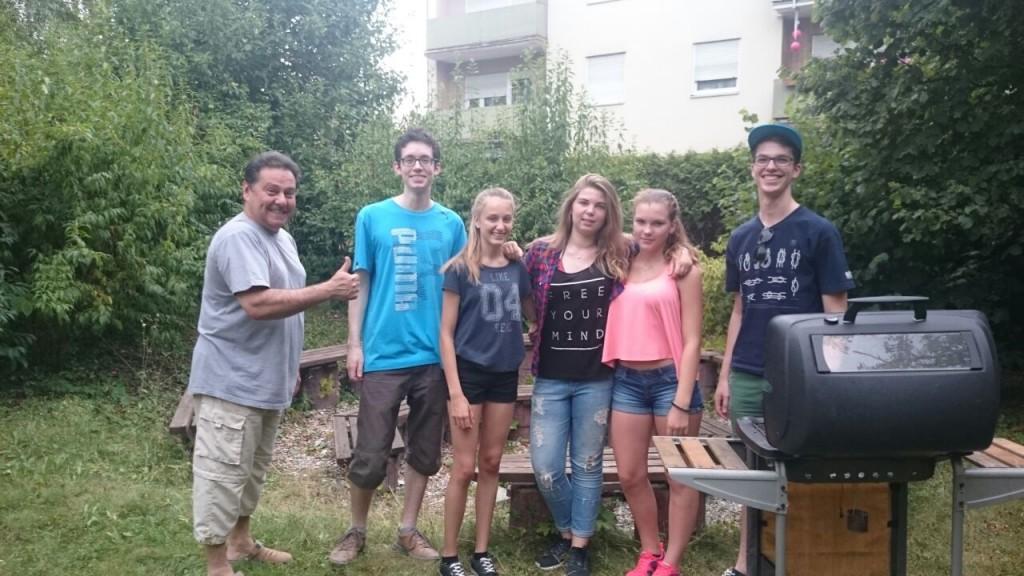 Grillen am 3. Juli 2015