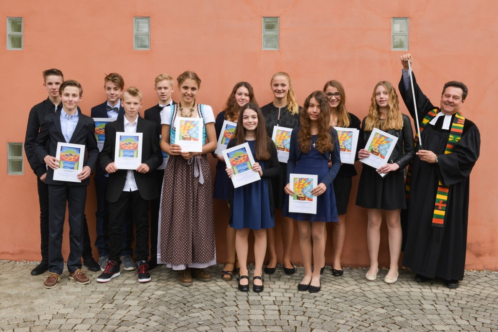 Konfirmation am 1. Mai 2016