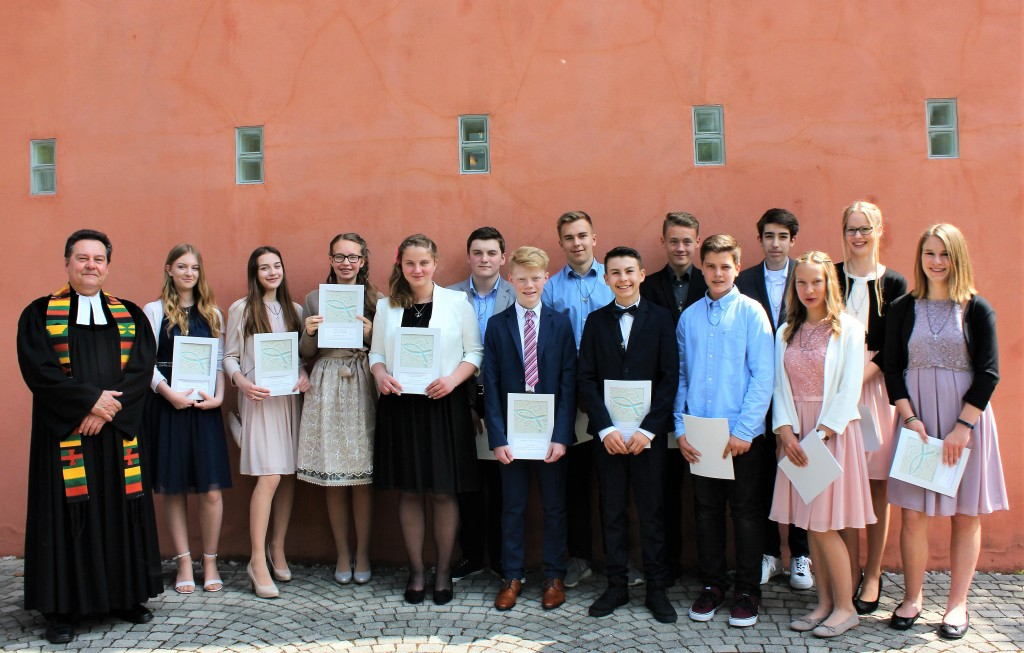 Konfirmation am 5. Mai 2018