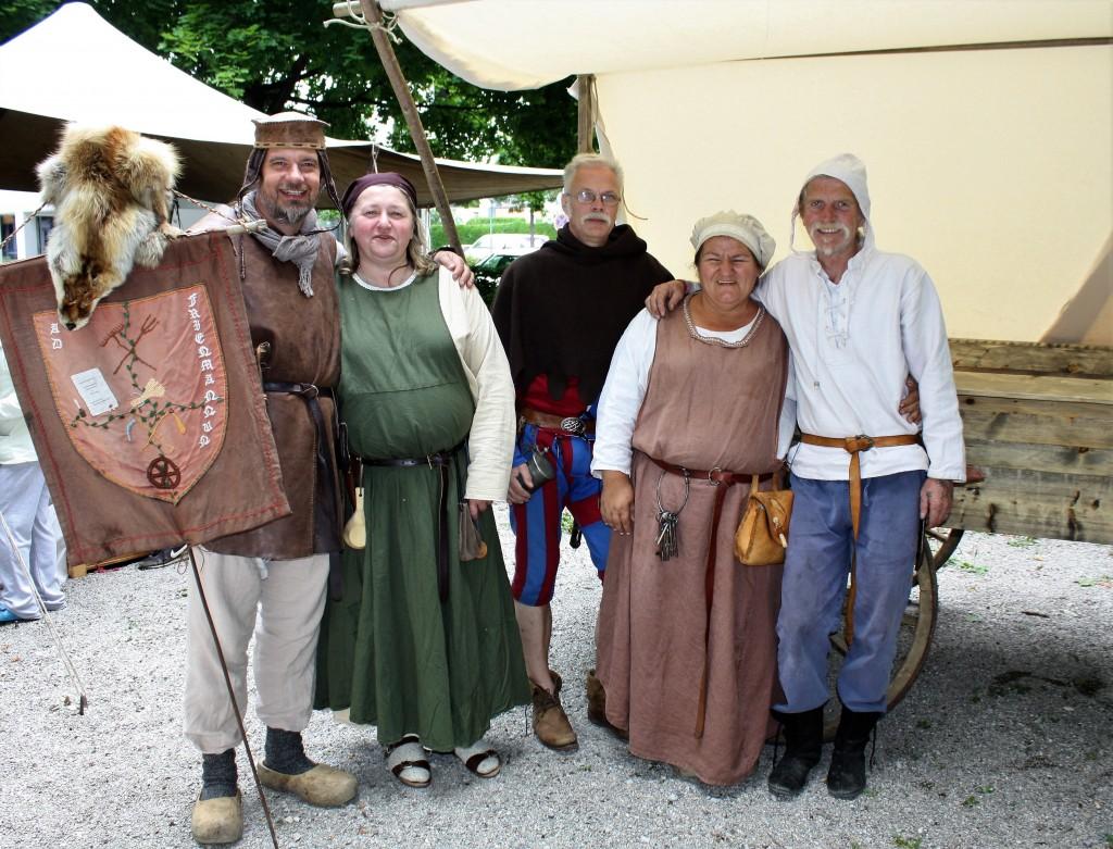 Fest zum Reformationsjubiläum (2. Juli 2017): Mittelaltergruppe