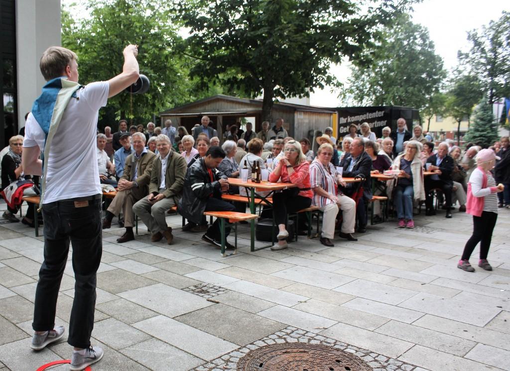 Fest zum Reformationsjubiläum (2. Juli 2017): Gaukler