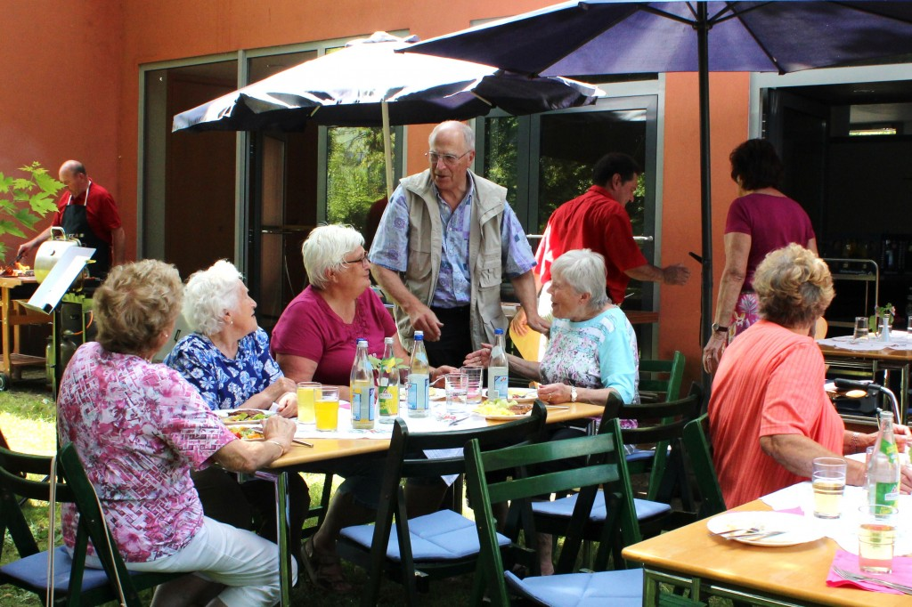 Sommerfest der Senioren am 3.8.2016